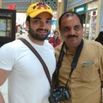Gaurav Mukesh with father