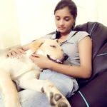 Geet Sharma's dog