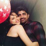 Geeta Bisht with her husband Yash Saini