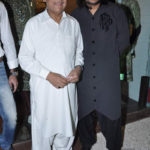 Ghulam Ali With his Son Aamir Ali