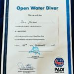 Gilu Joseph a certified Scuba Diver