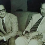 Guru Dutt With Abrar Alvi