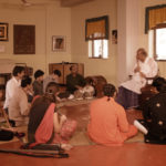 Hariprasad Chaurasia With His Students in Gurukul