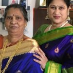 Harshada Khanvilkar with her mother