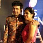 Heital Puniwala with his wife