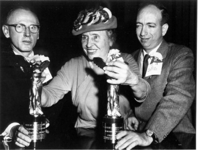 Helen Keller Receiving Awards