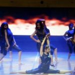 Hema Sood performing at a show on behalf of her academy