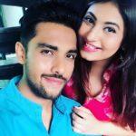 Hemann Choudhary with Nirali Manek