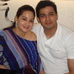 Hemant Thatte with wife