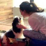 Hira Ashar loves dogs