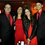 Hira Ashar with her family