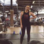 Imari Du Plessis gym picture