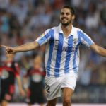 Isco playing for Malaga CF