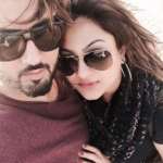 Jaani with his wife