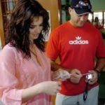 Jacques Kallis With His X-Girlfriend Marisa Eggli