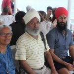 Jagmeet Singh with his parents