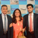 Jai Anmol Ambani With His Parents
