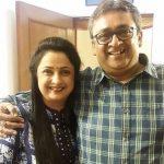 Jaya Ojha with brother Akshat Pandey