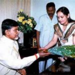 Jaya Prada With Chandrababu Naidu