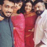 Jayaram with his family