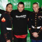 Jeff Hardy With U. S. Marine Corps.