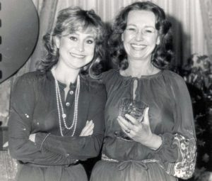 Jennifer Kendal (Right) With Her Sister Felicity Kendal