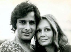 Jennifer Kendal With Her Husband Shashi Kapoor