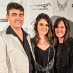 Jessica Bratich Johnson with her parents