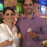 Jessica Bratich Johnson with her Husband