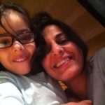 Juhi Chaturvedi With Her Daughter