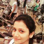 Jui Gadkari during workout