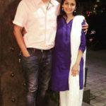 Jui Gadkari with Prasad Limaye