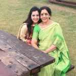 Jyoti Sharma mother and her sister Pooja
