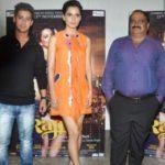 Kangana Ranaut and Vishwas Patil During Promotions Of Film Rajjo