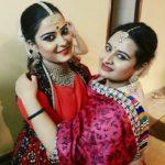 Kantika Mishra with her sister