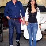 Karan Kapoor with his daughter Aliya Kapoor