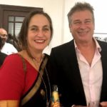 Karan Kapoor with his sister Sanjana Kapoor