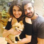 Karan Veer Mehra with Wife