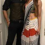 Karishma Modi with her husband Manmeet