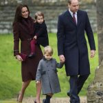 Kate Middleton With Her Husband And Children