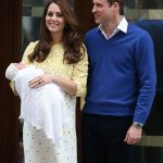 Kate Middleton With Her Second Child