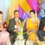 Keshav Maharaj with his family