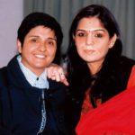 Kiran Bedi With Her Daughter Saina