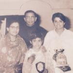 Kiran Bedi With Her Parents
