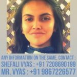 Kirti Vyas Missing Report