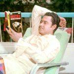 Kishore Kumar reading Novels