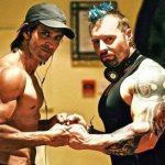 Kris Gethin with Hrithik Roshan