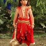 Krish Chauhan as Young Hanuman