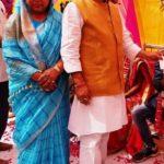 Kuldeep Singh Sengar With His Wife