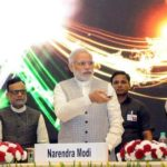 Jayant Sinha With Indian Prime Minister Narendra Modi And Finance Minister Arun Jaitley On The Occassion Of Launching Mudra